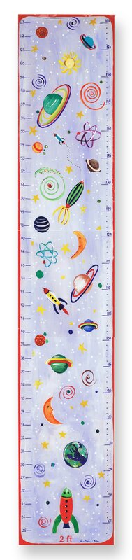 Stupell Industries The Kids Room Celestial Growth Chart