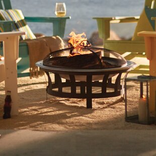 Whitman Steel Wood Burning Fire Pit