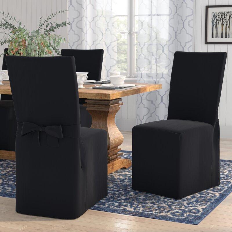 Charlton Home Dining Chair Slipcover Amp Reviews Wayfair Ca