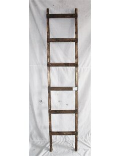 rustic 6 ft blanket ladder
