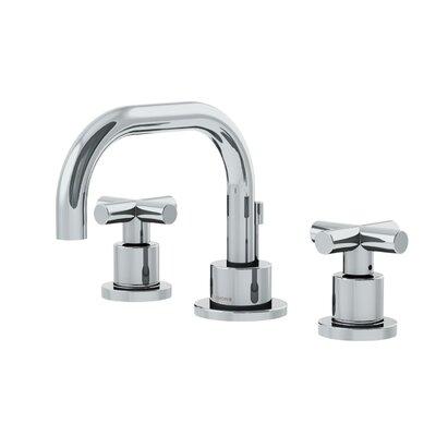 Dia Low Spout Widespread Standard Bathroom Faucet Double Cross Handle