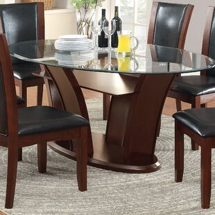 Glass kitchen dining tables youll love wayfair cushing dining table watchthetrailerfo