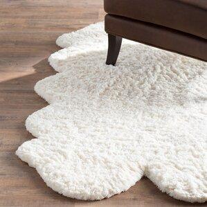 faux fur rugs you'll love | wayfair