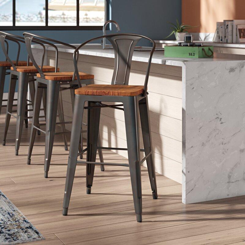 Trent Austin Design Ellery 30 Quot Bar Stool Amp Reviews Wayfair