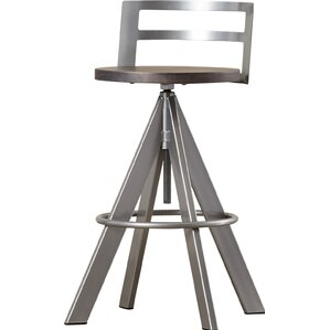 Louque Adjustable Height Bar Stool by ..