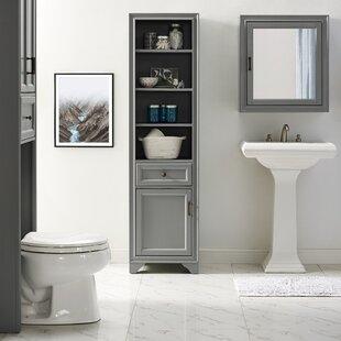 Farmhouse Rustic Bathroom Cabinets Shelves Birch Lane