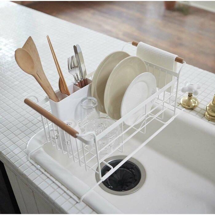 Corrigan Studio Jamari Over The Sink Dish Drainer Rack Reviews