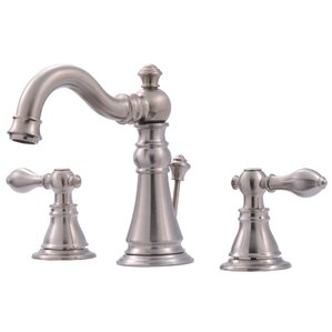 Great Widespread Bathroom Faucet With Double Handles