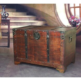 Destinee Wooden Trunk