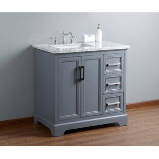 Inch Gray Bathroom Vanities Youll Love Wayfair - 36 inch gray bathroom vanity