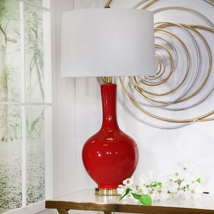 Red Table Lamps Youu0027ll Love In 2019 | Wayfair