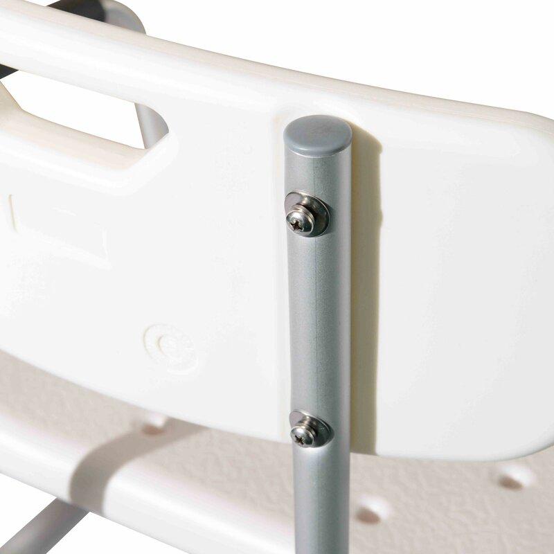 HomCom Adjustable Medical Shower Seat & Reviews | Wayfair