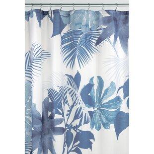 Watercolor Fern Shower Curtain
