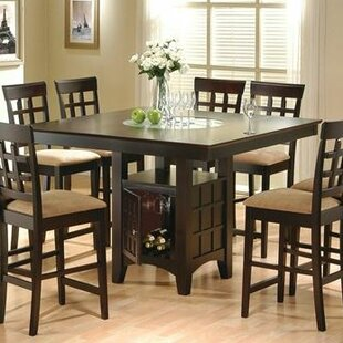 melvin counter height dining table - Square Dining Room Table Sets
