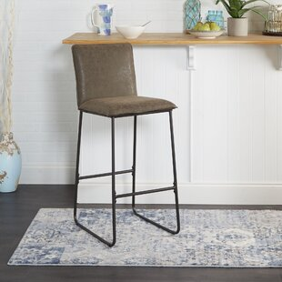 Seifert Exposed Frame Square Back 29 Bar Stool