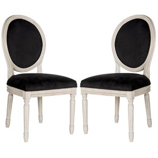 Black Velvet Kitchen Dining Chairs You Ll Love Wayfair