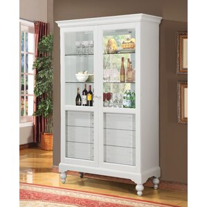 Ardsley Lighted Curio Cabinet by Roseclif..