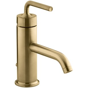 Modern Contemporary Brushed Gold Faucet AllModern - Gold faucets bathroom fixtures