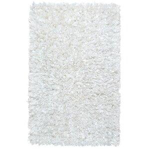 white rug. baumann hand-loomed white area rug