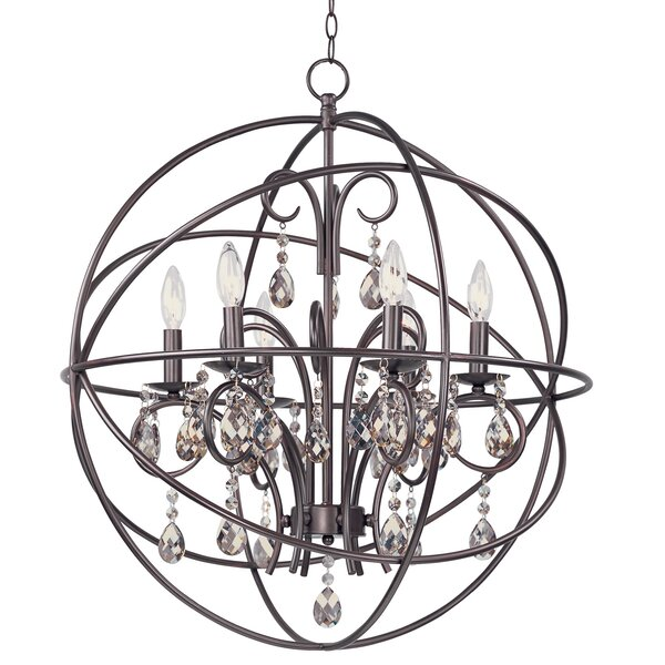 Alden 6 Light Globe Chandelier Reviews