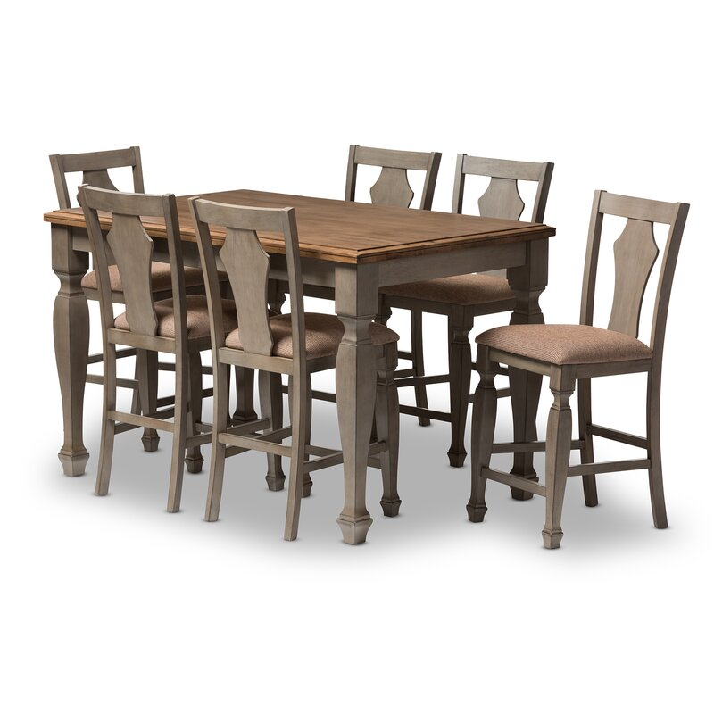 Martina 7 Piece Counter Height Dining Set Part 57