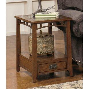 Landrienne Rectangular End Table