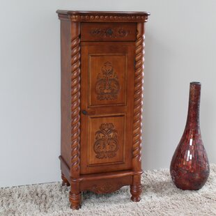 Attractive Windsor 2 Drawer Tall Accent Cabinet