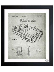 'Gameboy 1993' Framed Graphic Art Print