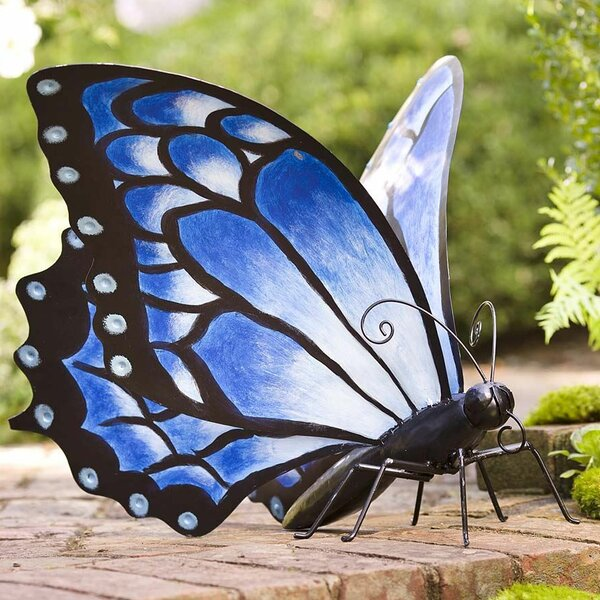 Wind Amp Weather Large Metal Butterfly Statue Amp Reviews