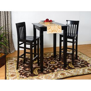 Vivas 3 Piece Pub Table Set