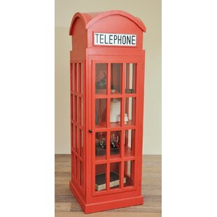 Malvina Cottage English Phone Booth Accent Cabinet