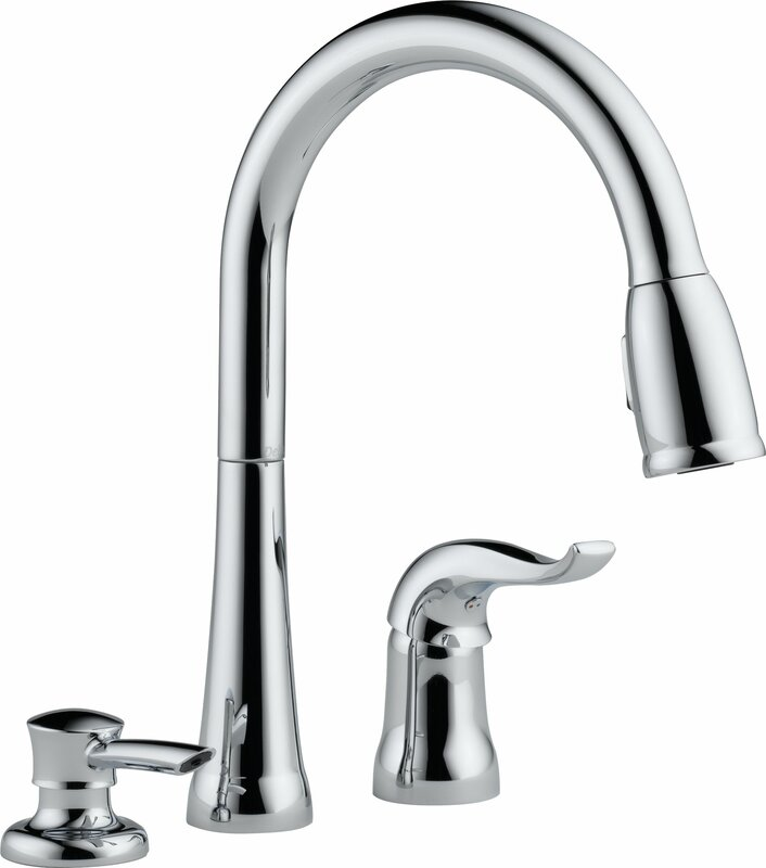 Kate Pull Down Single Handle Kitchen Faucet