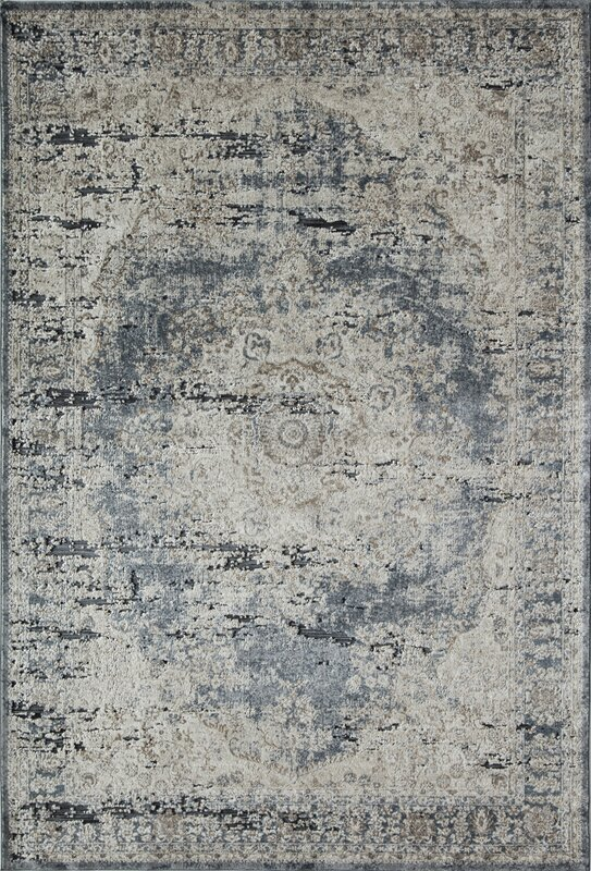 Black And Tan Area Rugs rugs america cambridge blue/tan area rug | wayfair