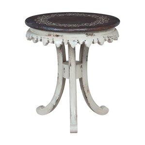Donneville Bib End Table by One Allium Way