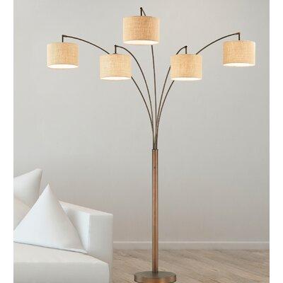 Modern 5 Light Floor Lamps Allmodern