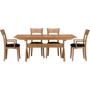 Sarah 5 Piece Extendable Solid Wood Dining Set