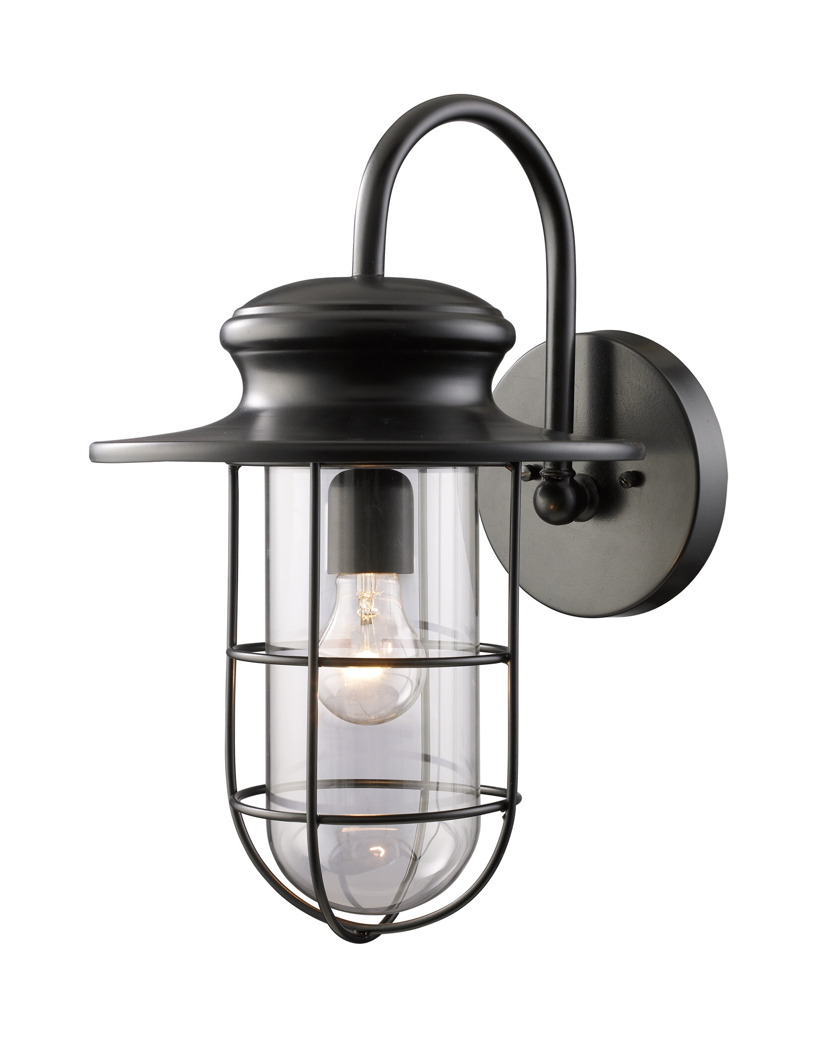 Breakwater bay garr 1 light outdoor barn light wayfair