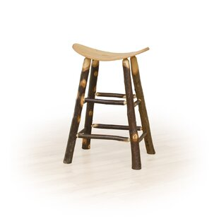 Urgeon Hickory 24 Saddle Stool