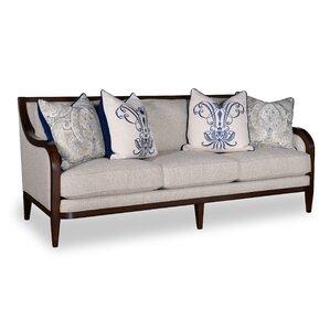 Canora Grey Marylhurst 3 Seat Linen Sofa