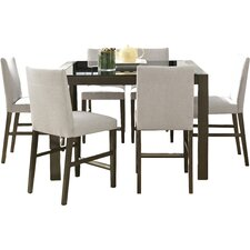 north stoke 7 piece counter height dining set - Countertop Dining Room Sets