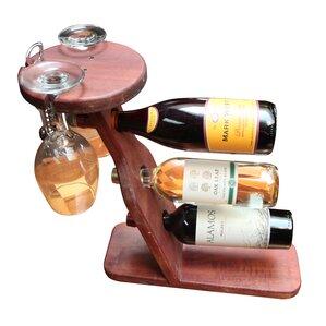 3 Bottle Tabletop Wine Rack by Gronomics