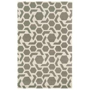 Fairlee Grey/White Area Rug