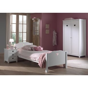 Amori 3 Piece Bedroom Set by Vipack