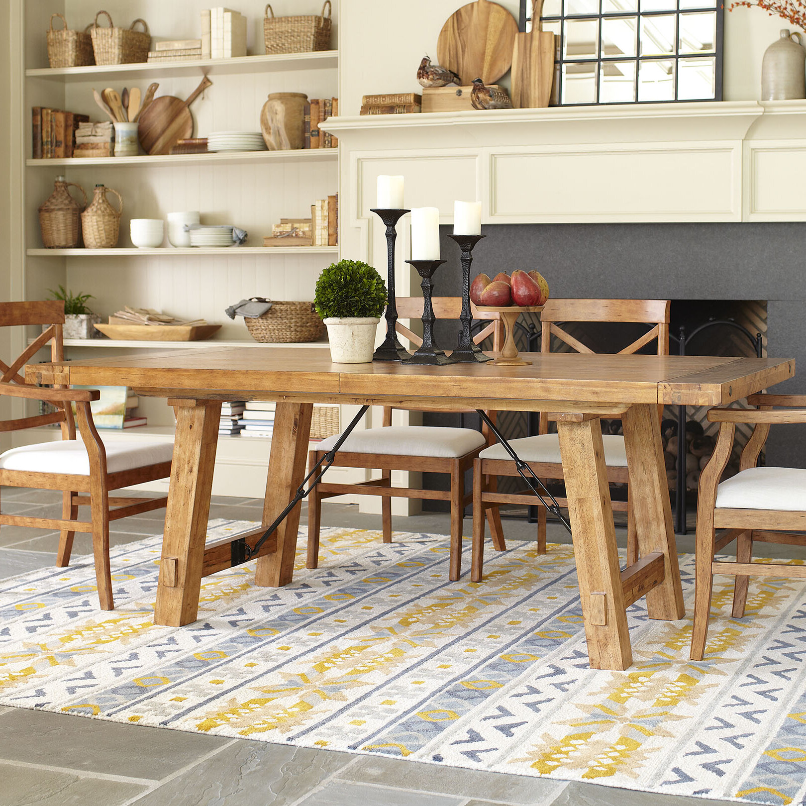 Birch LaneTM Mansfield Extendable Dining Table Reviews