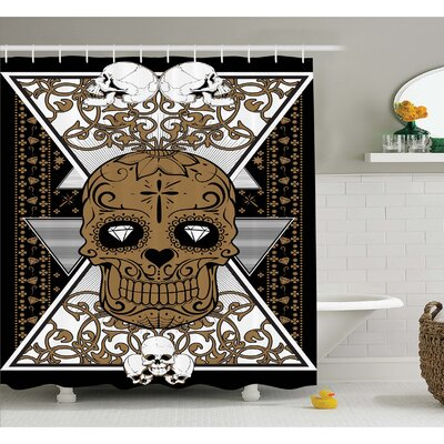 Tattoo Wise Old And Brave Viking Warrior With Long Beard Armour Shower Curtain Set
