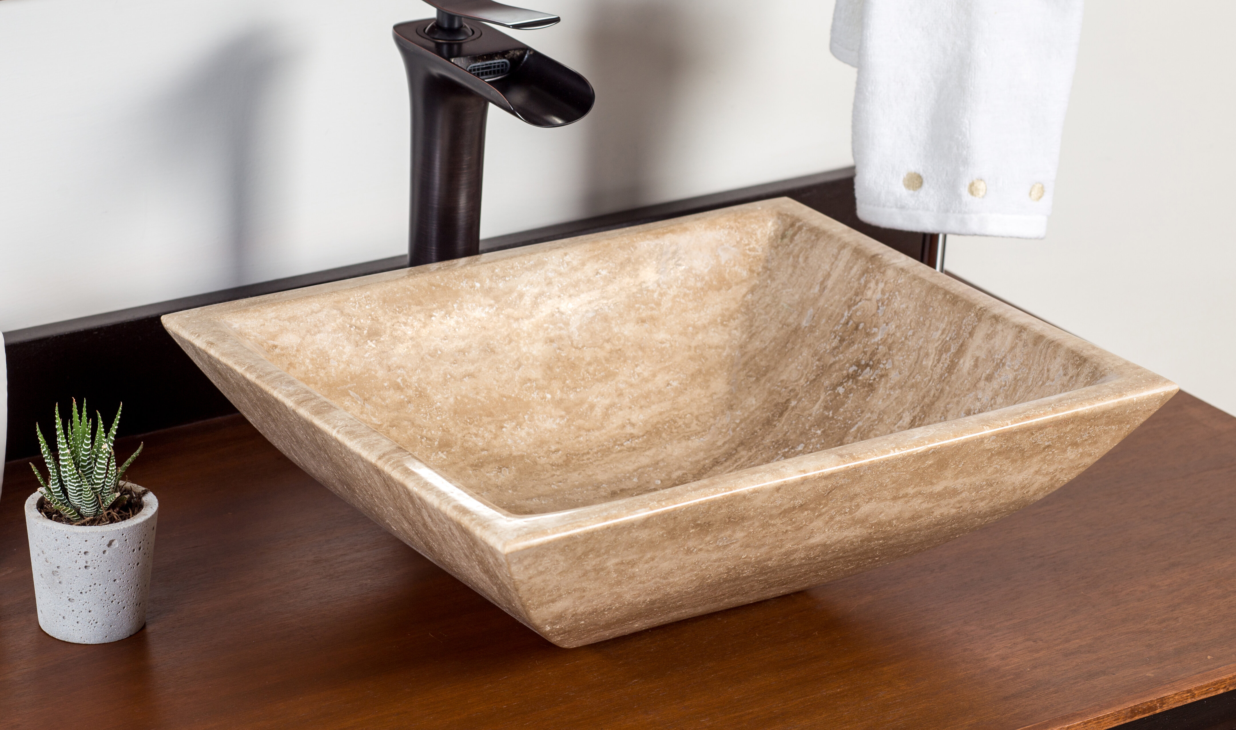 Laguna marble sivas stone rectangular vessel bathroom sink wayfair
