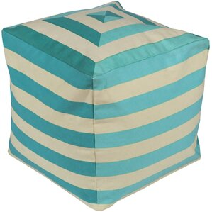 Southington Pouf Ottoman by Rosecliff Heights