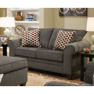 Alcott Hill Simmons Upholstery Degory Modern Loveseat