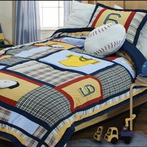 Amazing Baseball Comforter Set
