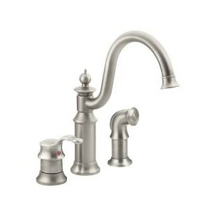 Moen Waterhill Single Handle Kitchen Faucet